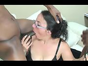 55 year old granny shows why she's considered to be a cocksucking master