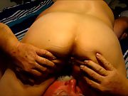 Old folks making a porn video just lisen in