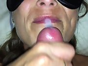 Another thick facial for the wife