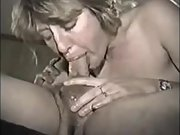 Cocksucker wife takes all of my cock deep